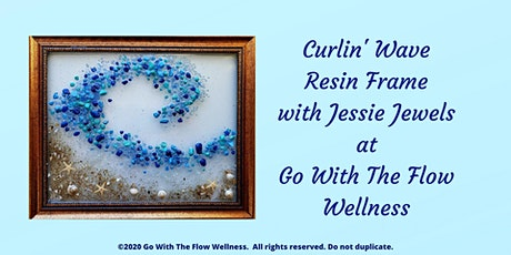Curlin' Wave Resin Frame tickets