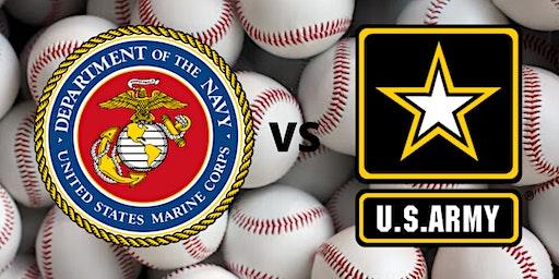 Softball Game Marines vs. Army