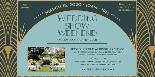 Knollwood Wedding Show Weekend 2020