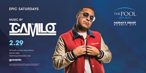 DJ Camilo | Epic Saturdays at The Pool REDUCED Guestlist