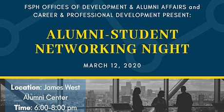 FSPH 2020 Alumni Student Networking Event tickets