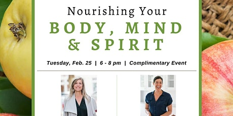 Nourishing Your Body, Mind, and Spirit tickets