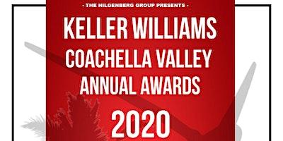 KELLER WILLIAMS COACHELLA VALLEY ANNUAL AWARDS 2020