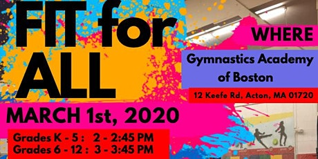 Fit for All!  (Grades 6 to 12) tickets