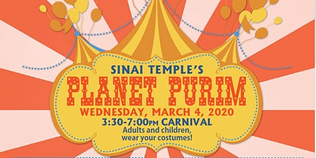 Planet Purim Carnival  tickets