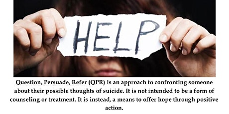 QPR For Suicide Prevention tickets