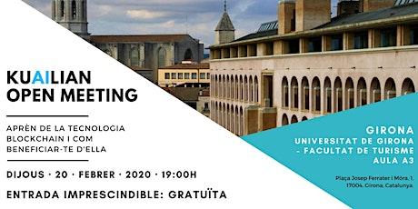 Blockchain Girona entradas