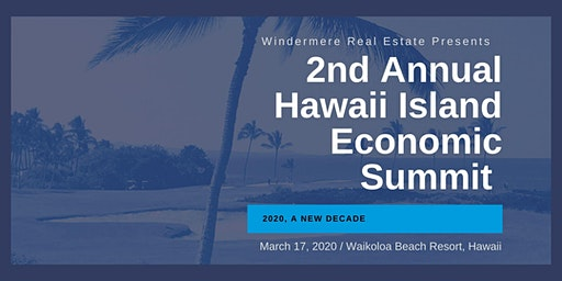 2nd Annual Hawaii Island Economic Summit