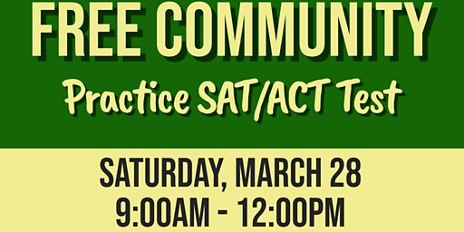 March 2020 Free Community SAT/ACT Practice Test