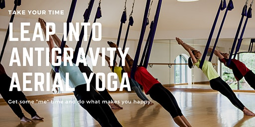 Leap Into AntiGravity© Aerial Yoga on Leap Day!