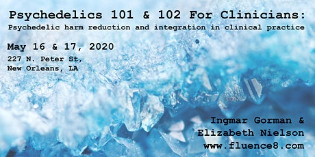 Psychedelics 101 & 102 for Clinicians tickets