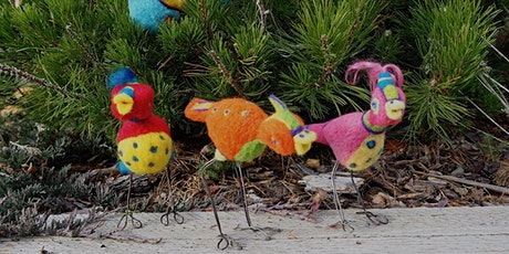 Intermediate Needle Felting – Funky Birds and Friends. Taking Needle-felt to the Next Level!  tickets
