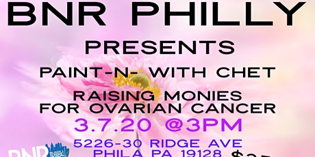 BNR Philly Paint with Chet tickets