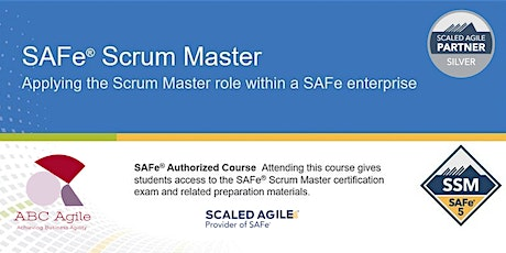 Certified SAFe® Scrum Master 5.0 London by Amogh Joshi tickets