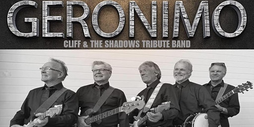 Geronimo (Cliff Richard and the Shadows Tribute) @ De Cactus op 16-2-2020