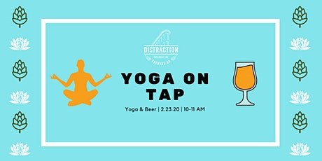 Yoga on Tap - 2/23 tickets