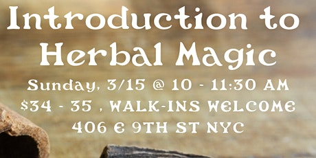 Introduction to Herbal Magick tickets
