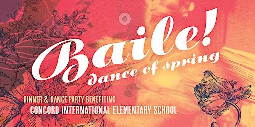 Baile de Primavera! — 2020 Dinner/Dance Party benefiting Concord Elementary