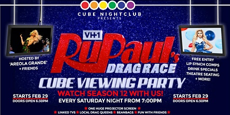 RuPaul's Drag Race – Cube Viewing Party! tickets