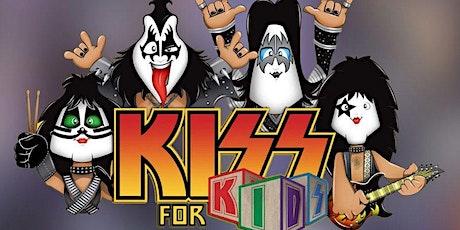 50% de DESCONTO! Show do Kiss for Kids no Teatro Raul Cortez ingressos
