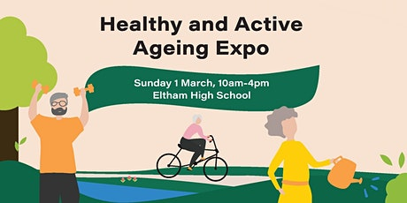 Healthy and Active Ageing Expo tickets
