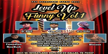 LEVEL UP FUNNY VOL 1 tickets