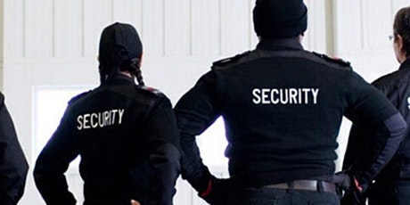 Security Guard Training at NO COST tickets