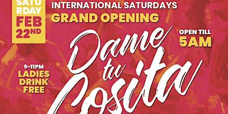 """Dame Tu Cosita"" International Saturdays @ BrickYard Boca!! Open till 5AM! tickets"