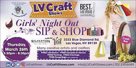 Girls' Night Out - Sip & Shop tickets