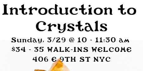 Intro to Crystals with Rebecca Fey of Kettle of Magick tickets