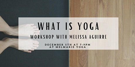 What is Yoga Workshop tickets