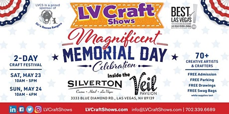 Magnificent Memorial Day Celebration 2-Day Craft Festival tickets