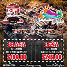 Festival del Asado Querétaro entradas