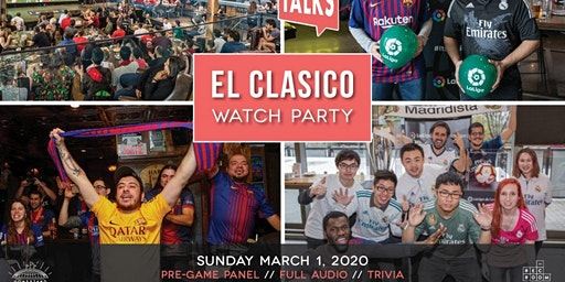 Footy Talks presents ElClásico Watch Party – Toronto