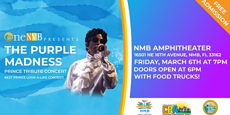 Purple Madness @ One NMB Concert Series tickets