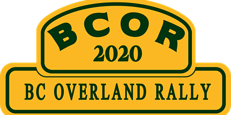BC Overland Rally 2020 tickets