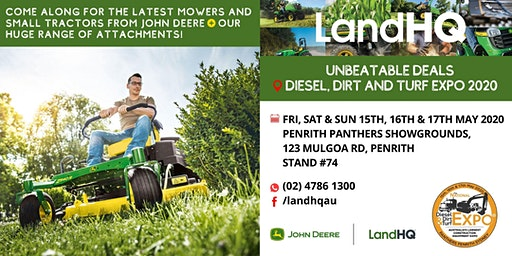 Diesel, Dirt & Turf Expo | Penrith 2020 [RSVP to LandHQ @ SITE #74]