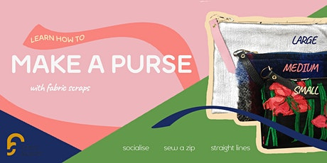 Sew a purse in 3 hours tickets