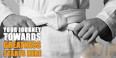 Karate Class Enrollment for Adult Beginners tickets