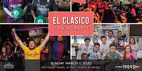 Footy Talks presents ElClásico Viewing Party tickets