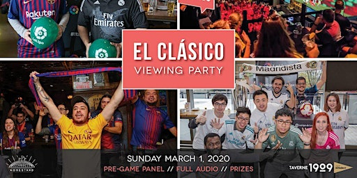 Footy Talks presents ElClásico Viewing Party