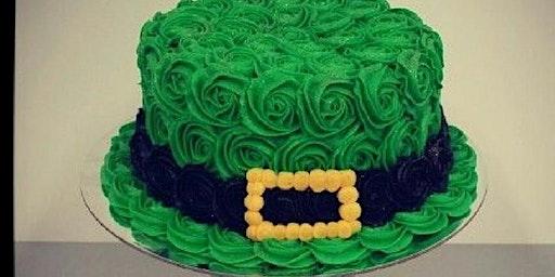 Luck O' the Irish cake decorating class