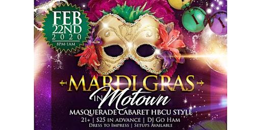 Mardi Gras in Motown: A Louisiana HBCU Cabaret