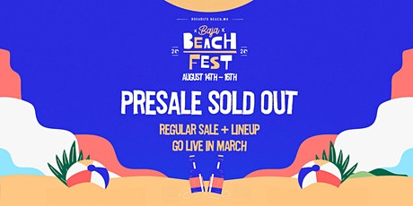 Baja Beach Fest 2020 tickets
