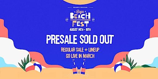 Baja Beach Fest 2020