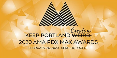 Keep Portland Creative: AMA PDX 2020 Marketing Excellence Awards tickets