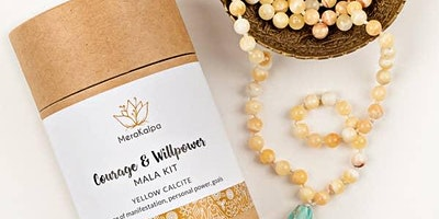 Mala Necklace Make and Take in Historic Folsom