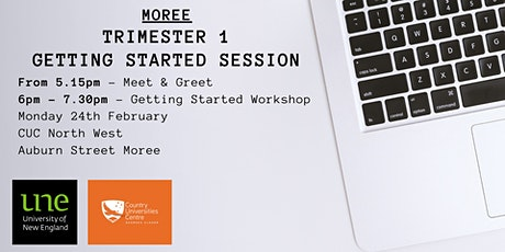 CUC North West (Moree) - UNE Getting Started Workshop tickets