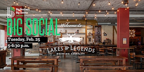 February Big Social: Lakes & Legends Brewing Company tickets