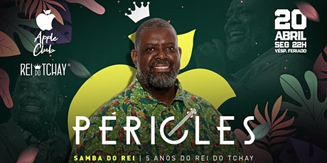 Péricles - Samba do Rei (Vésp. Feriado) ingressos